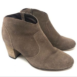 Steve Madden Harrlee Suede Ankle Boots Size 7.5